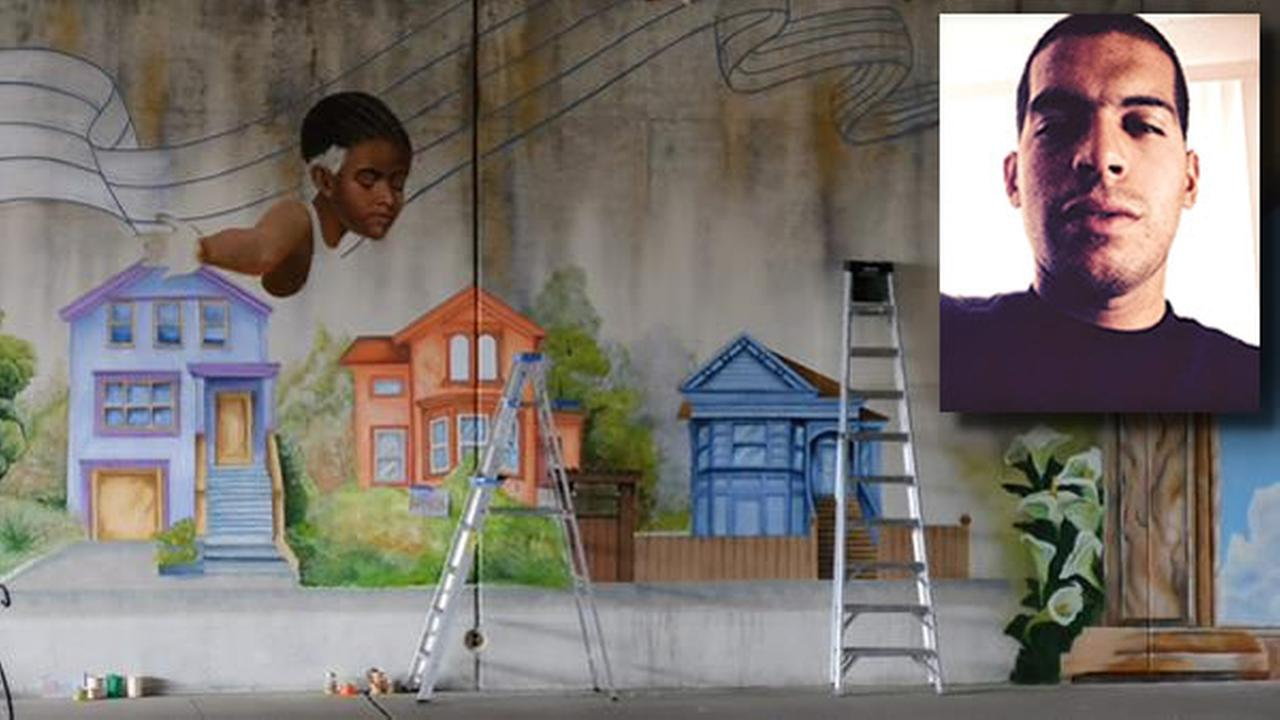 A photo of Antonio Ramos who was fatally shot while working on a mural in West Oakland, Calif. on Tuesday, September 29, 2015 is seen in this image.