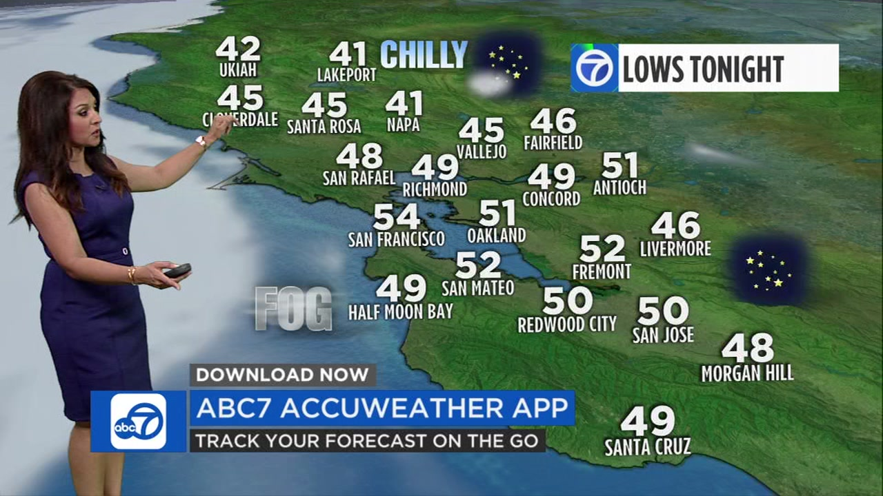 Meteorologist Sandhya Patel has your local AccuWeather forecast for Thursday evening.