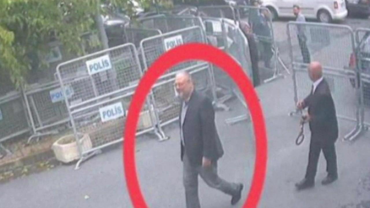 Jamal Khashoggi is seen in Turkey on Oct. 2, 2018.