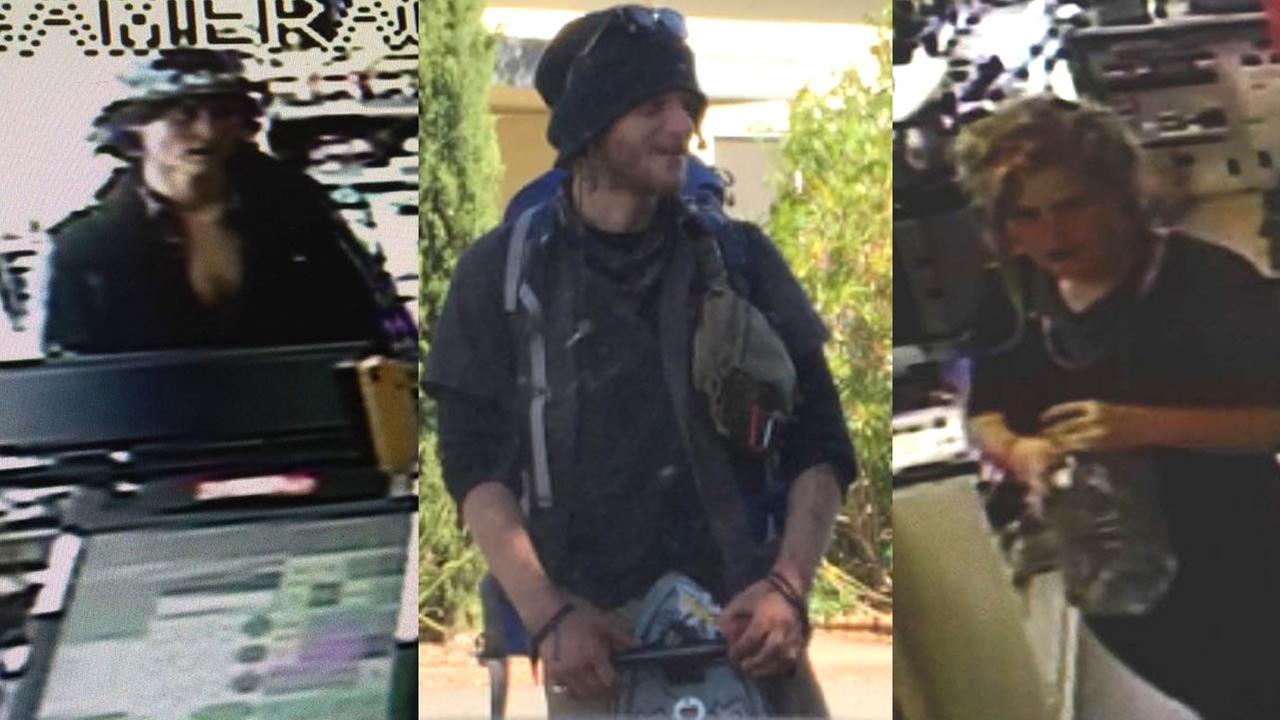 Three Marin County murder suspects