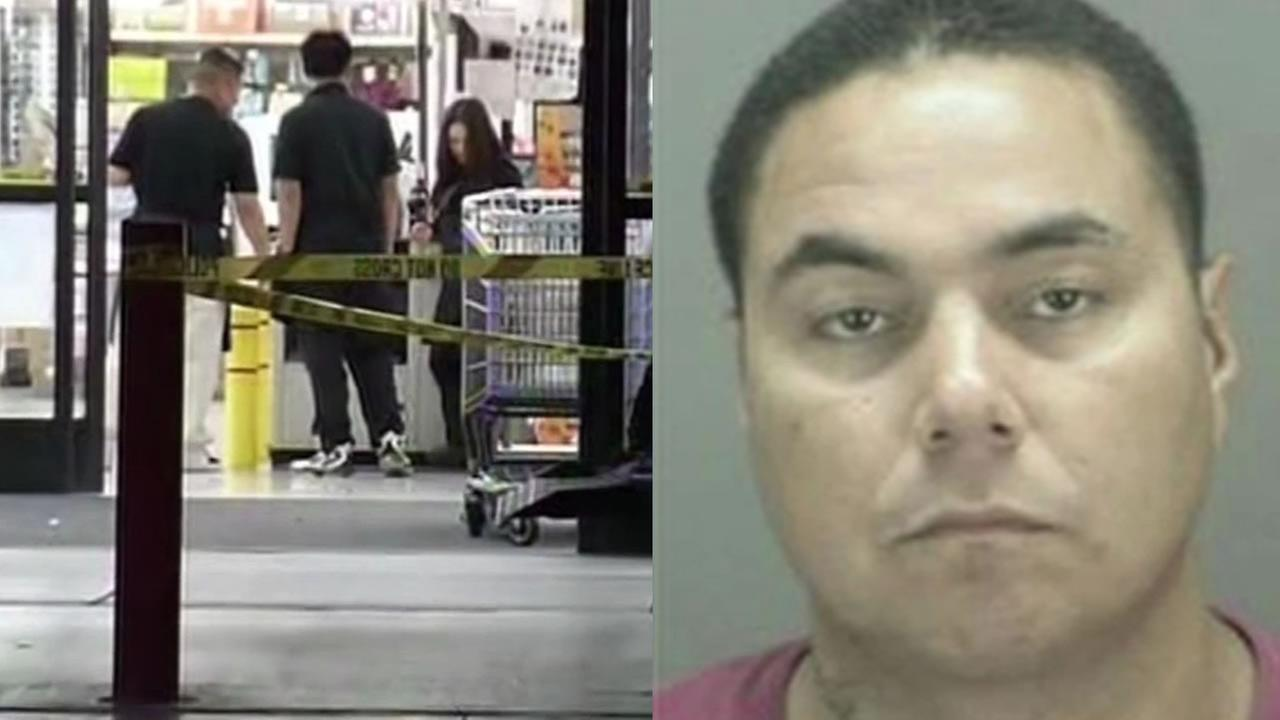 WinCo store stabbing scene, Anthony Jaramillo
