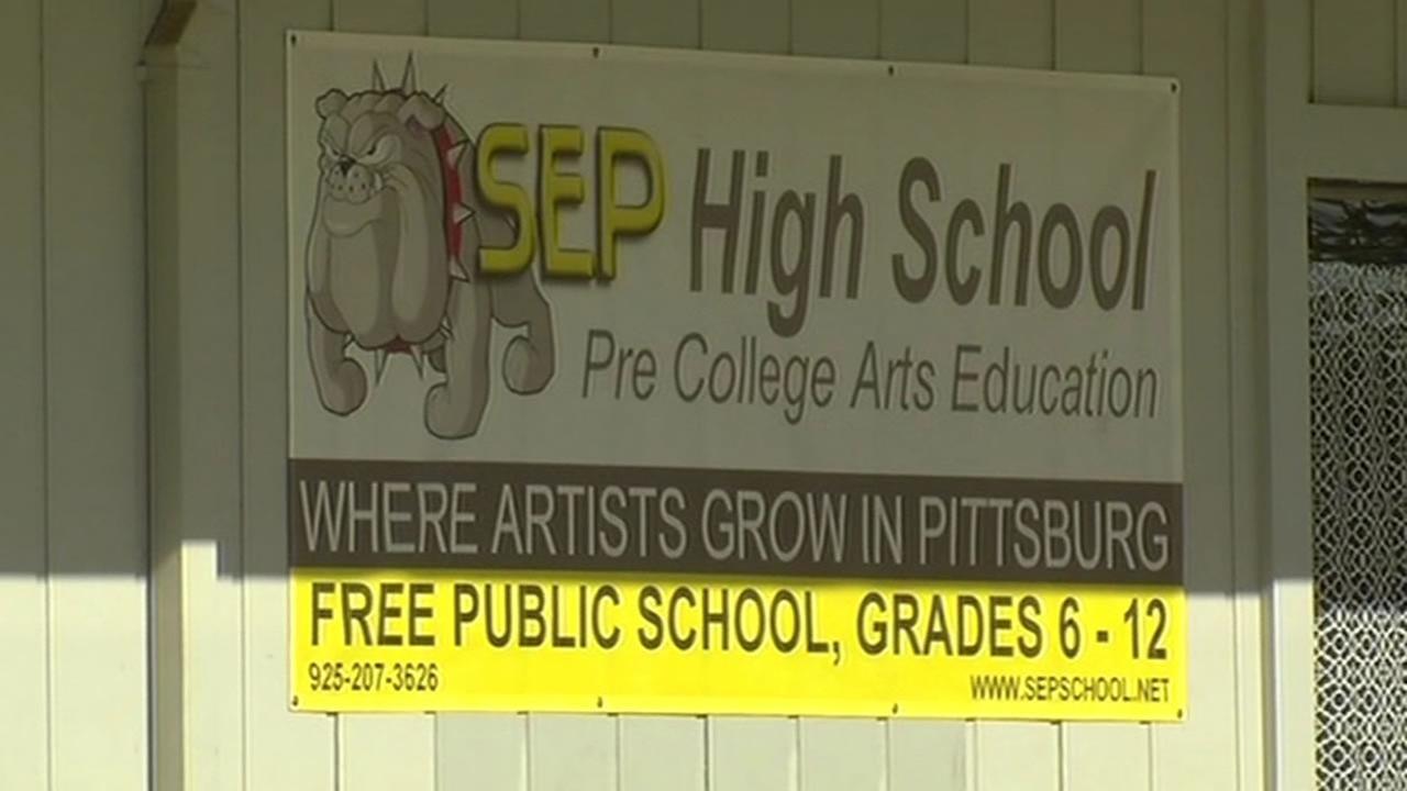 SEP High School sign