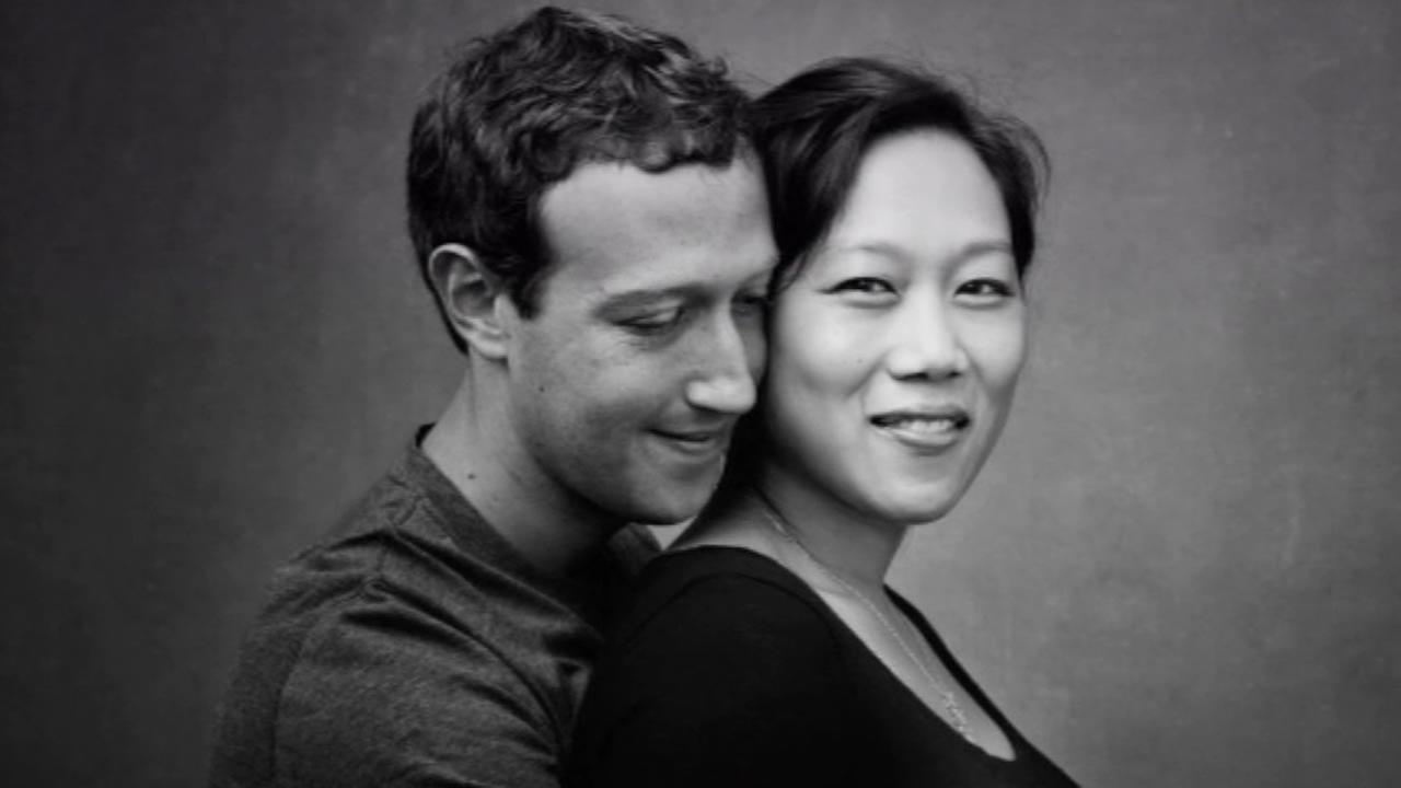 Mark Zuckerberg and Dr. Priscilla Chan