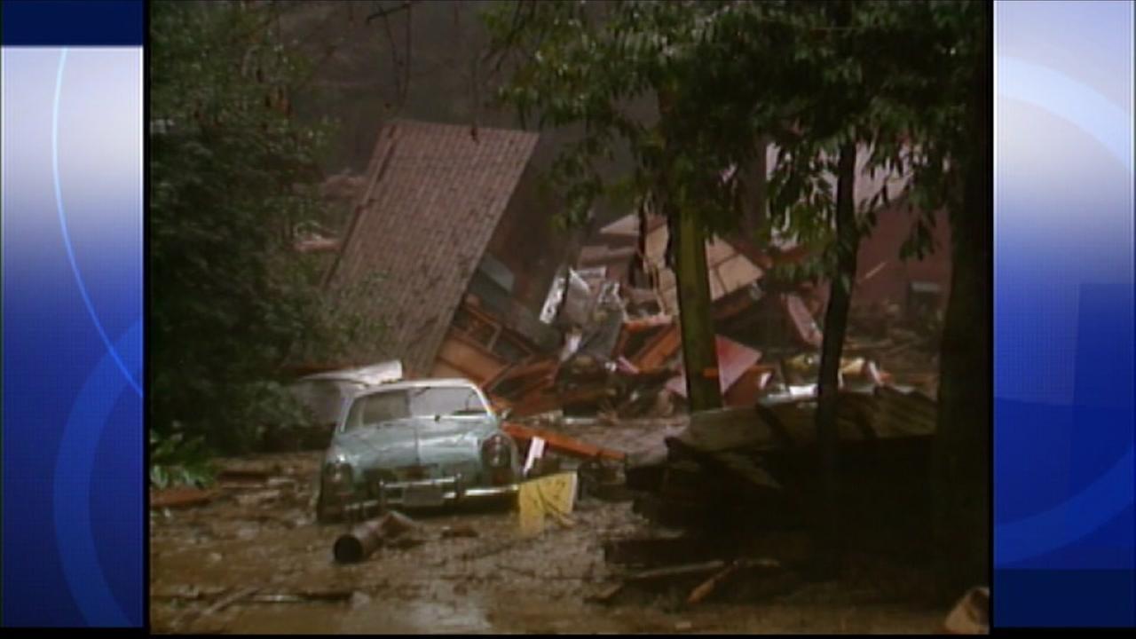 Homes knocked off foundation due to heavy El Nino storm
