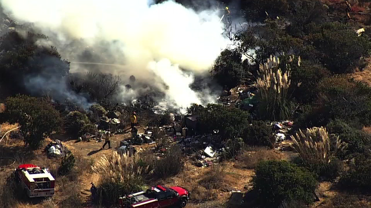 A huge plume of smoke could be seen across the Bay Area after a grass fire sparked on Bayview Avenue, west of the 580 in Richmond.