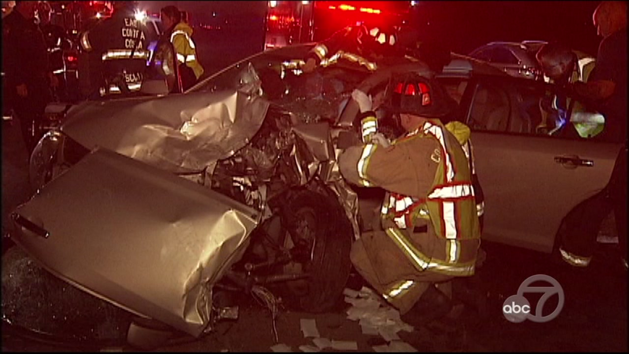 7 hurt in head-on collisions in Discovery Bay