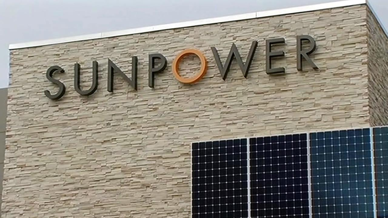 In this undated image, SunPower Corporation is seen in San Jose, Calif.