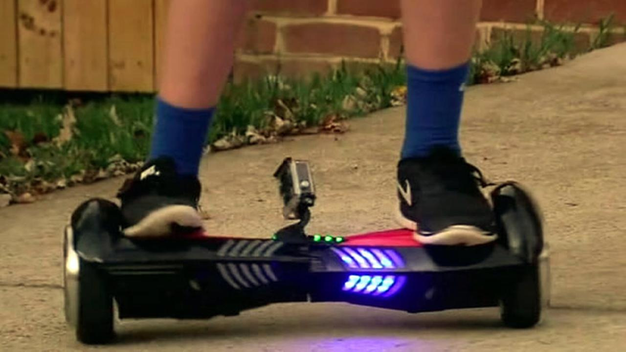 If a toy Hoverboard is on the top of your childs wish list, think twice because a family said the futuristic skateboard exploded inside their home.