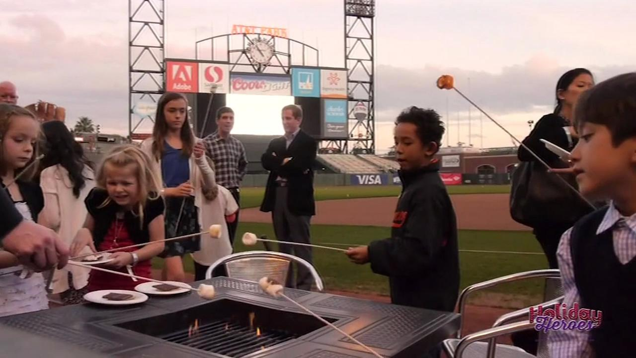 Holiday Heroes takes place will be at AT&T Park in San Francisco on Monday, December 7, 2015.