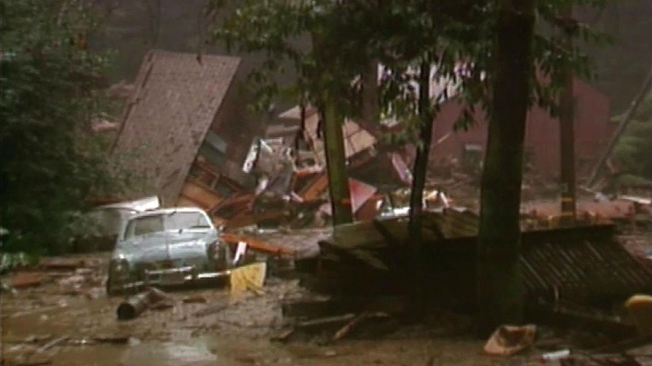 1995 mudslide in Rio Nido