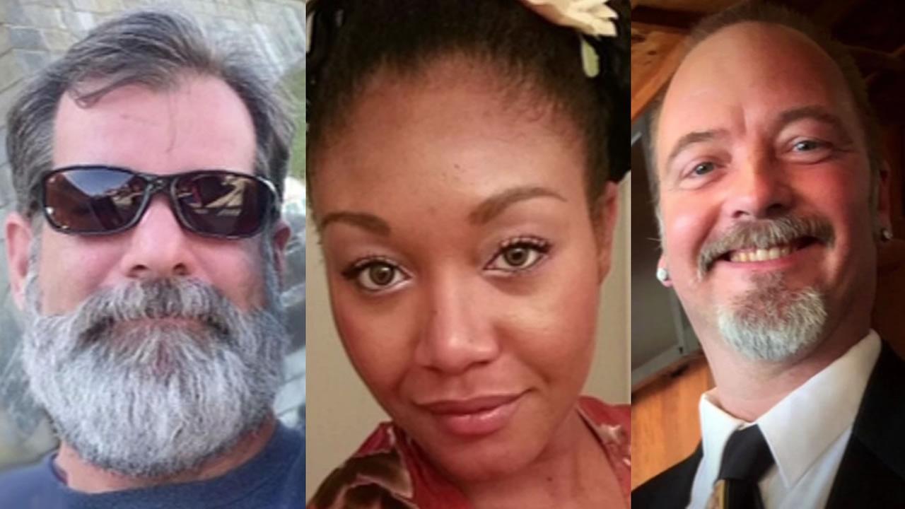 three of the San Bernardino victims