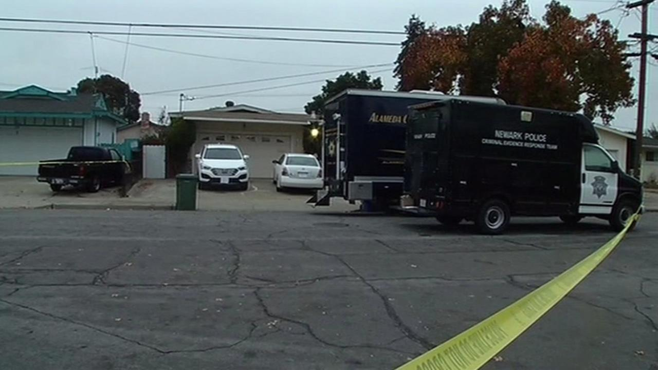 Newark police are investigating the suspicious death of a woman after they found her dead in a home on Tuesday, December 12, 2015.