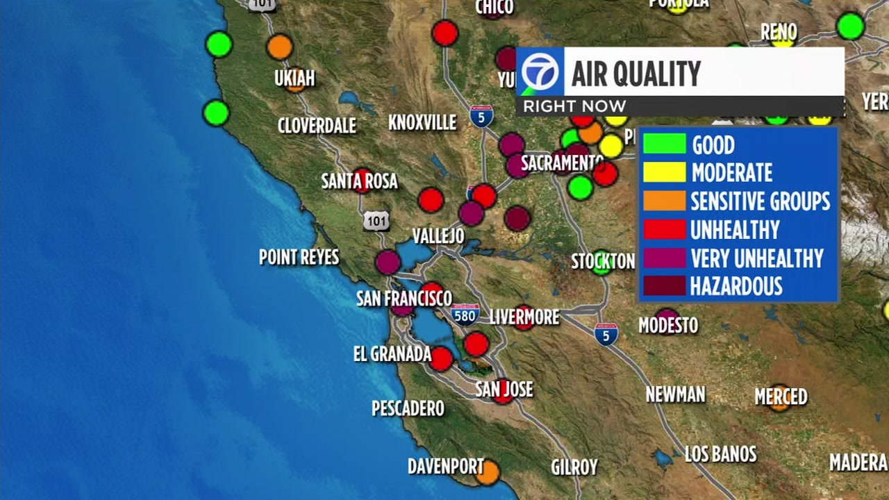 Smoke from Butte Countys Camp Fire has swept into the Bay Area. Heres how you can check air quality levels where you live.