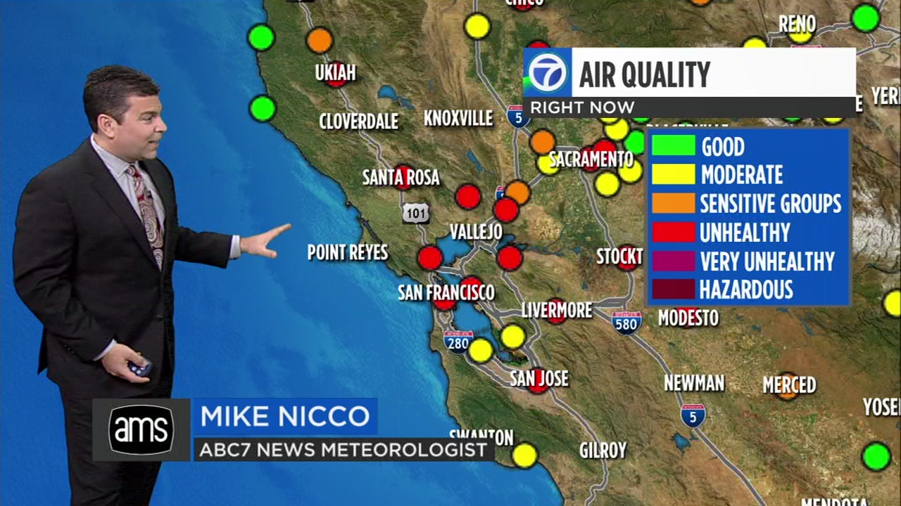 Smoke from Butte Countys Camp Fire continues to plague the Bay Area. Heres how you can check air quality levels where you live.