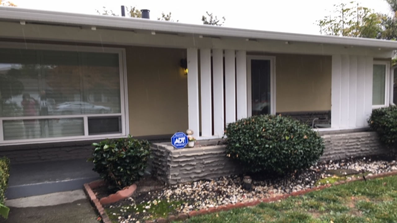 This photo taken on Wednesday, Nov. 21, 2018 shows the home of John Getreu in Santa Clara County, Calif.