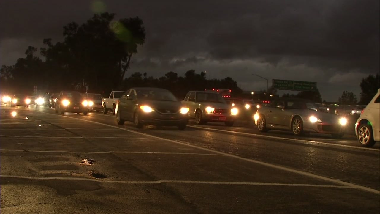 Many commuters tried to beat the storm home in the Bay Area causing some to have worse than normal traffic.