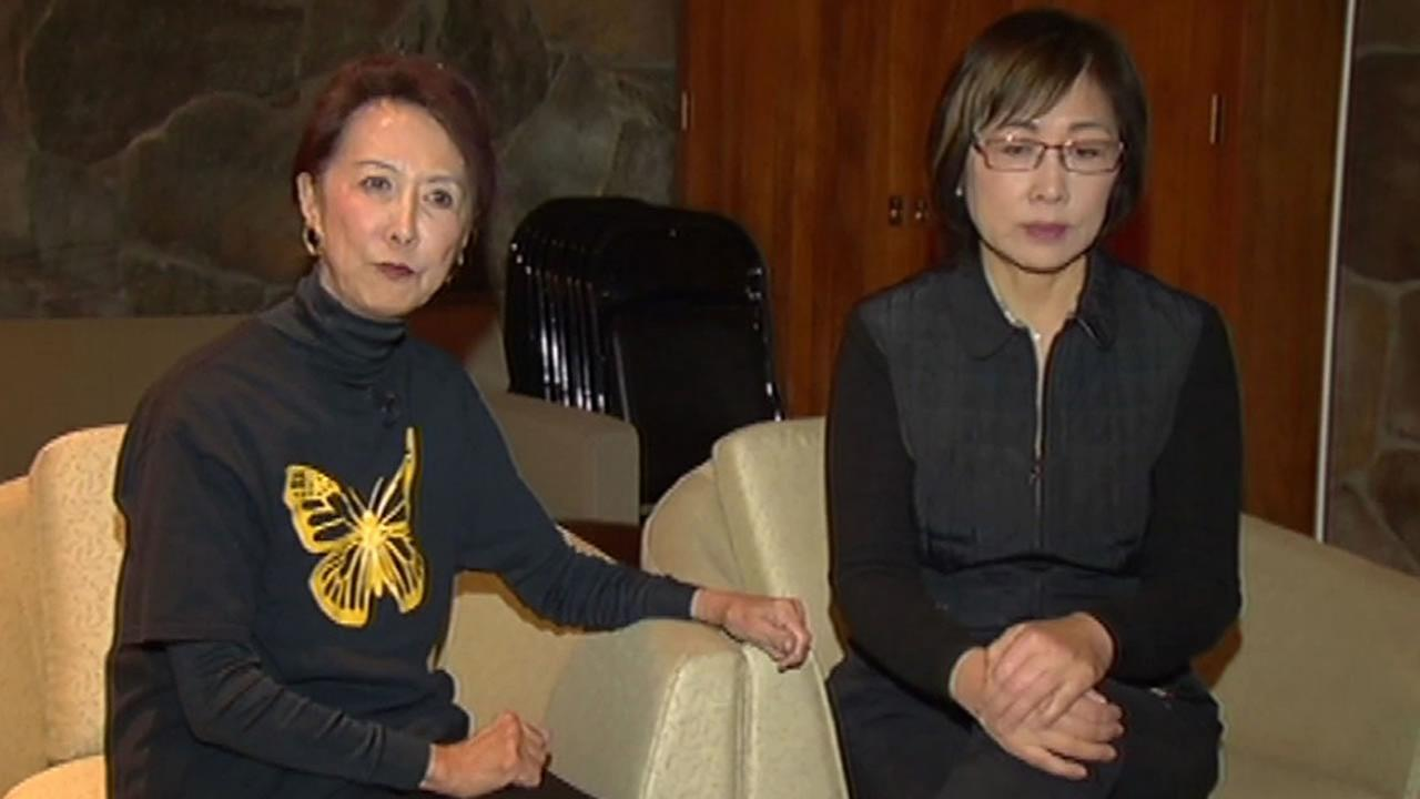Retired judges Julie Tang and Lillian Sing
