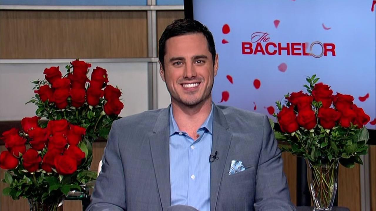 Ben Higgins smiles during an interview for The Bachelor in this undated image.