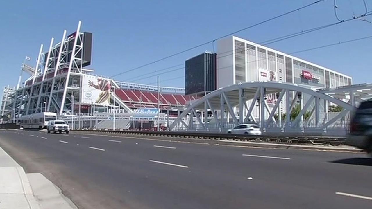 Levis Stadium in Santa Clara