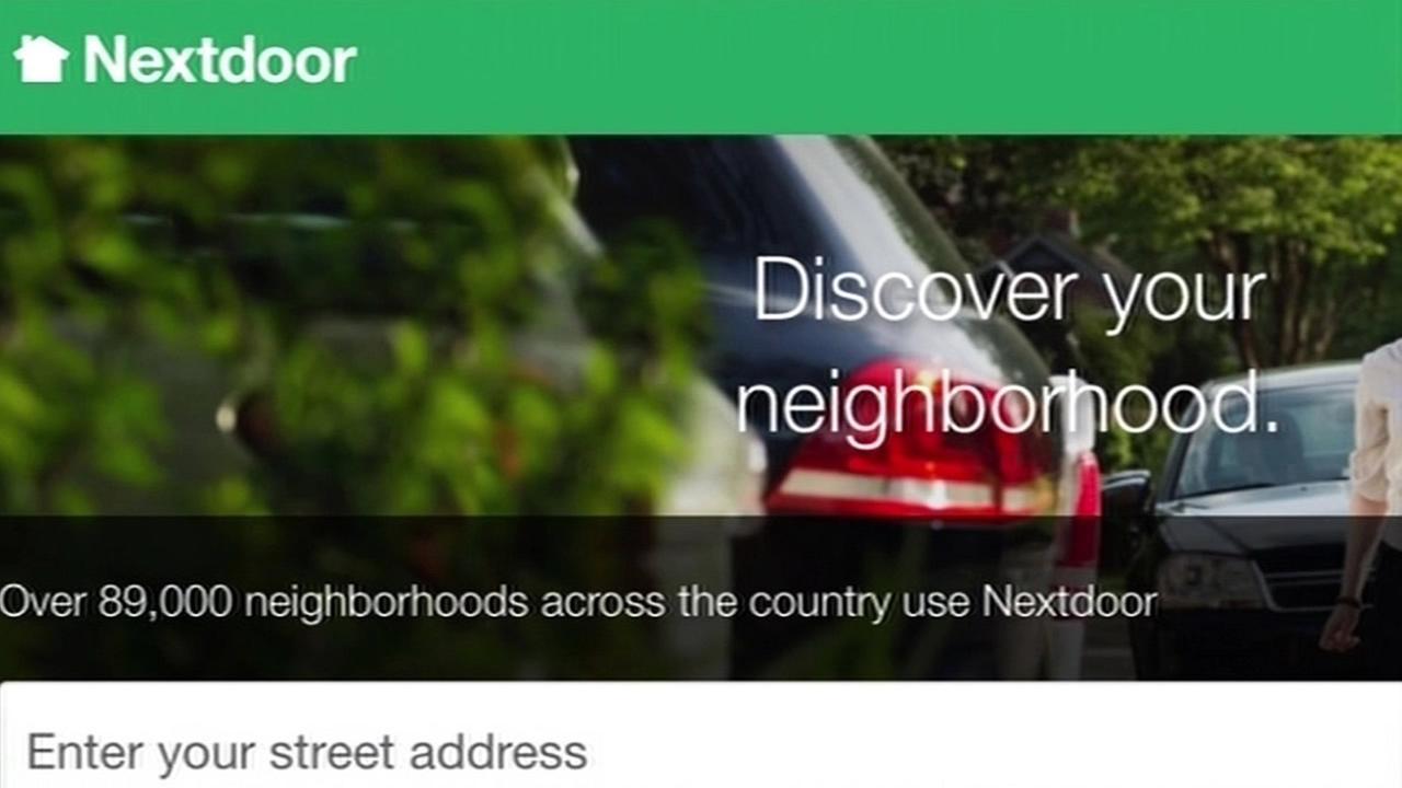 Nextdoors website is seen in this undated image.