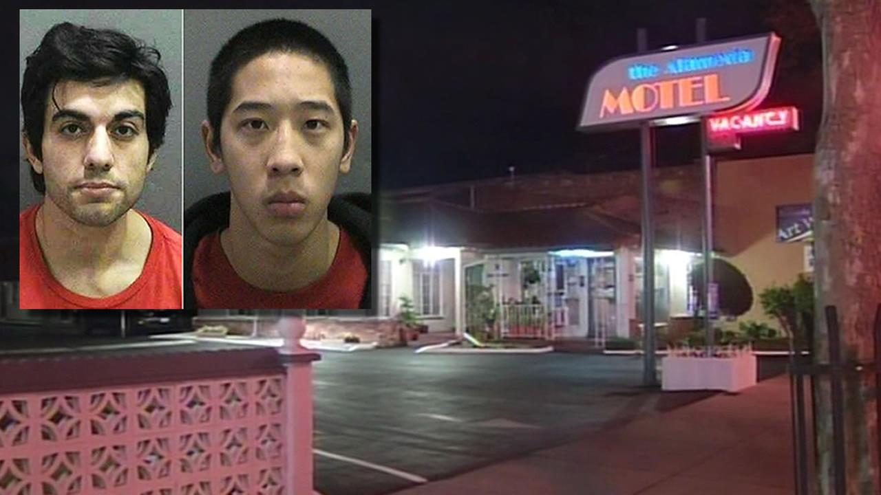 two fugitives, The Alameda Motel in San Jose