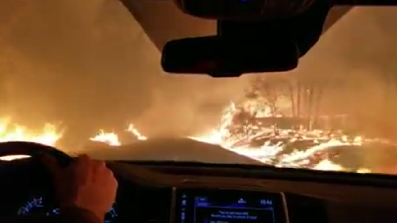 Camp Fire timeline video