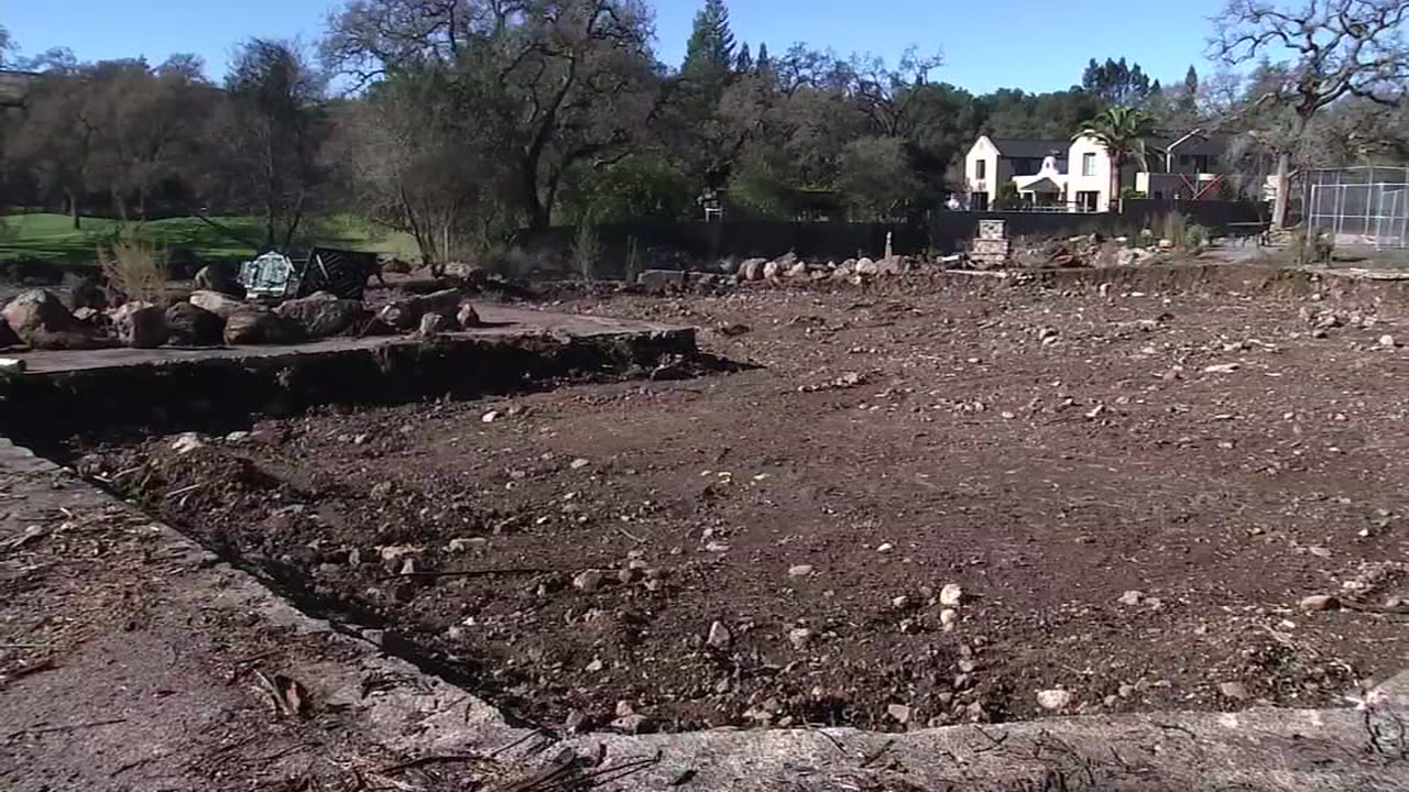 Plot of land in Napa, California on Thursday, December 7, 2018.