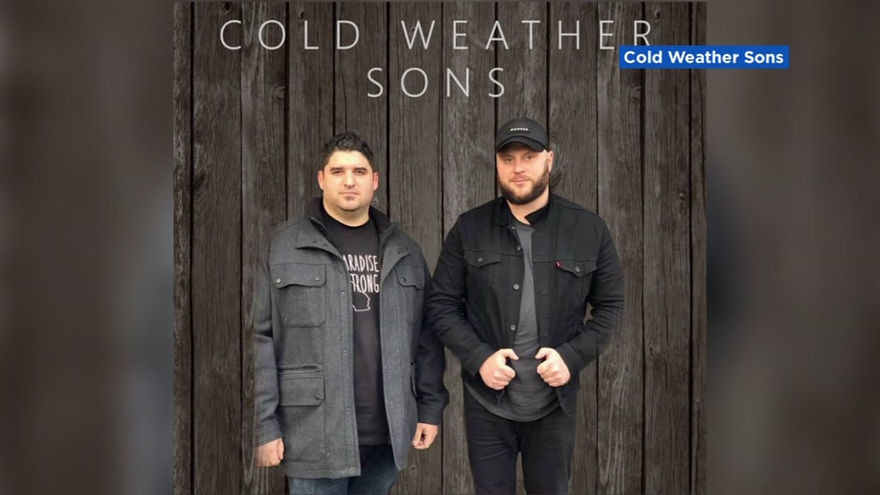 This undated image shows the musical duo Cold Weather Sons.