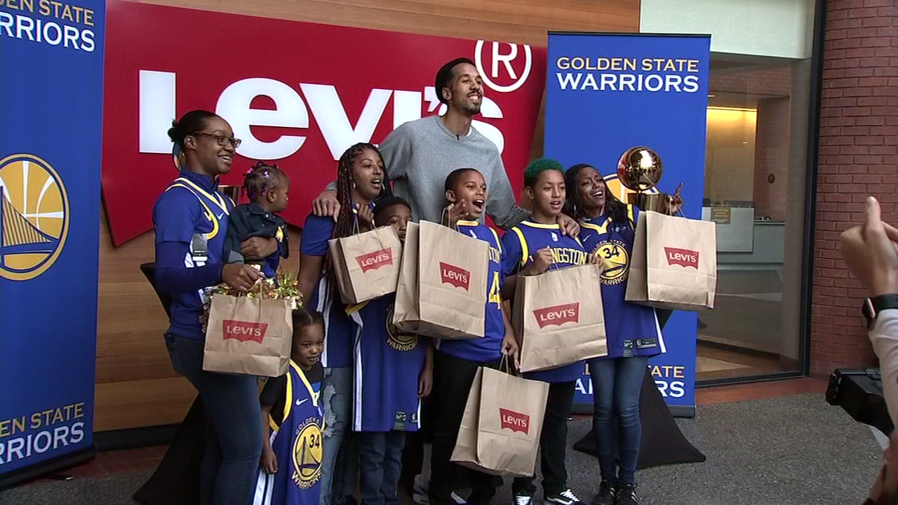 warriors shopping