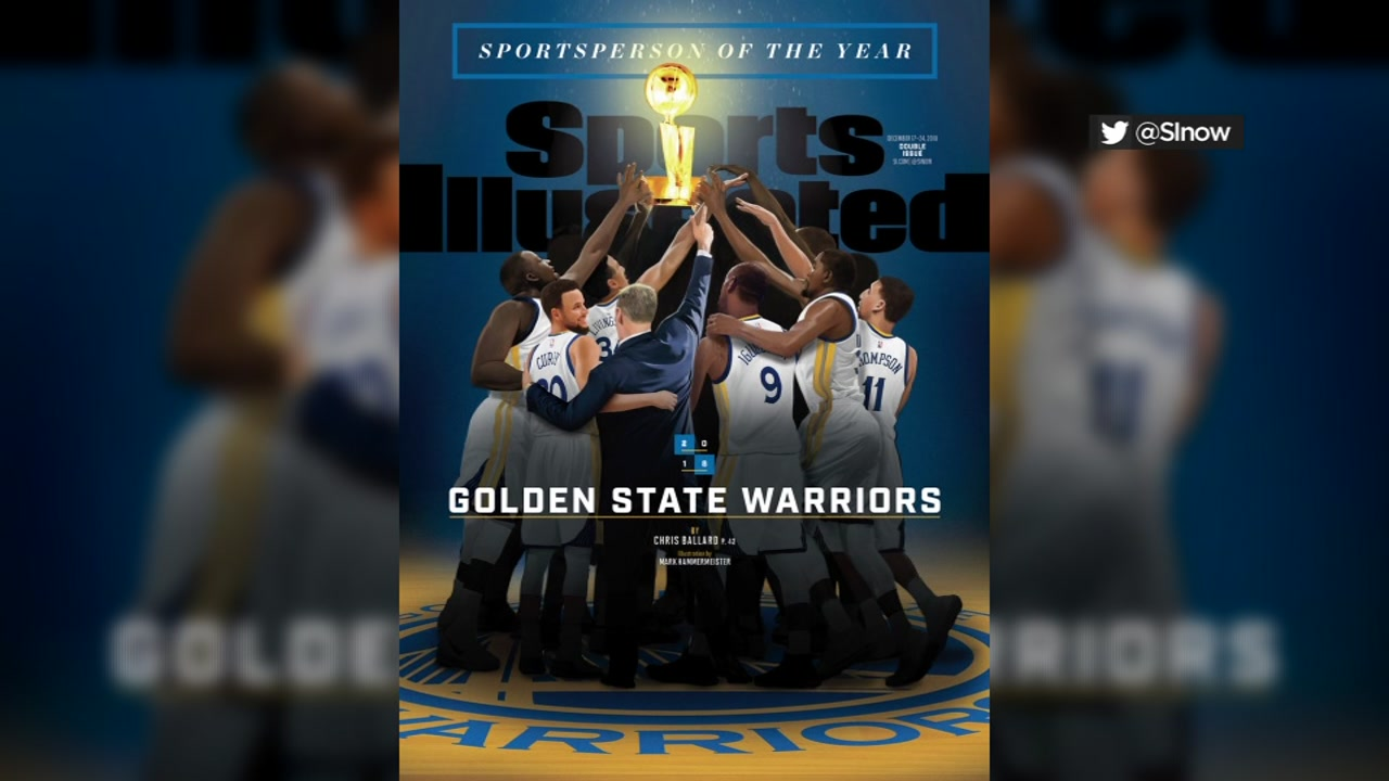 The Golden State Warriors have been named Sports Illustrateds Sportsperson of the Year.