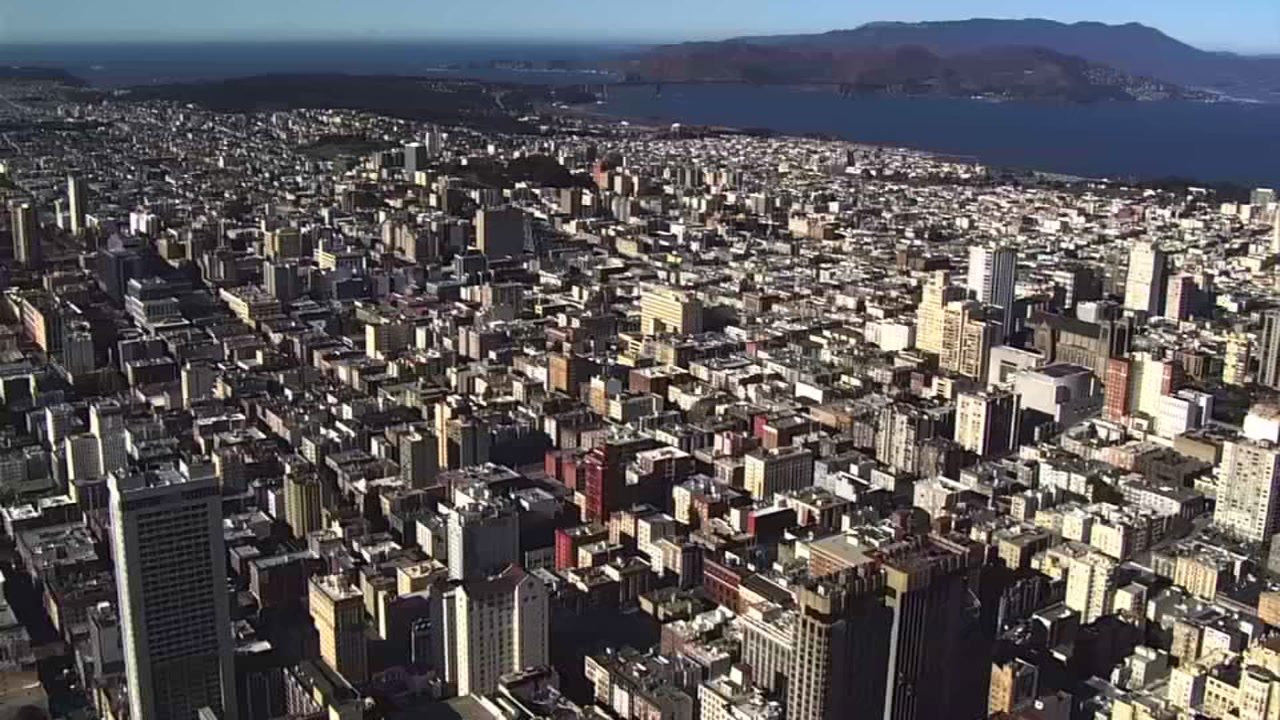 SKY7 was over San Francisco on Thursday, Nov. 13, 2018.
