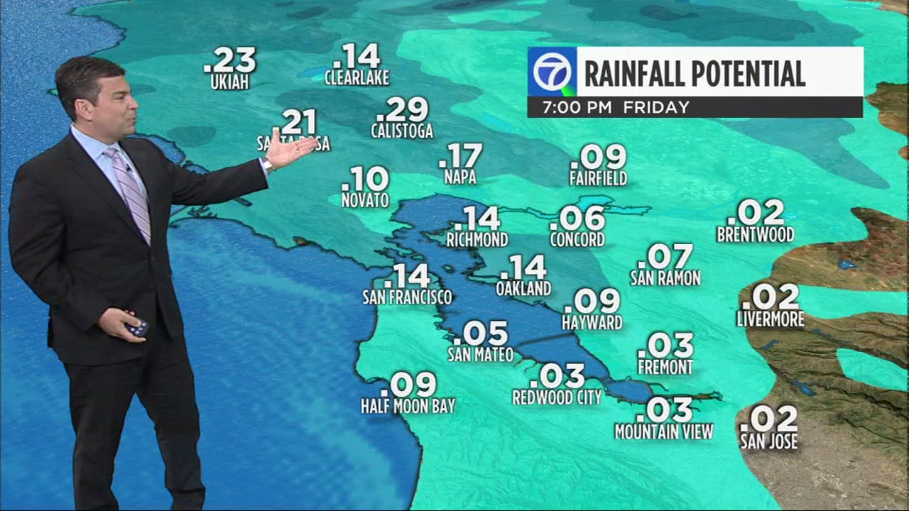 Meteorologist Mike Nicco has your Bay Area AccuWeather forecast.