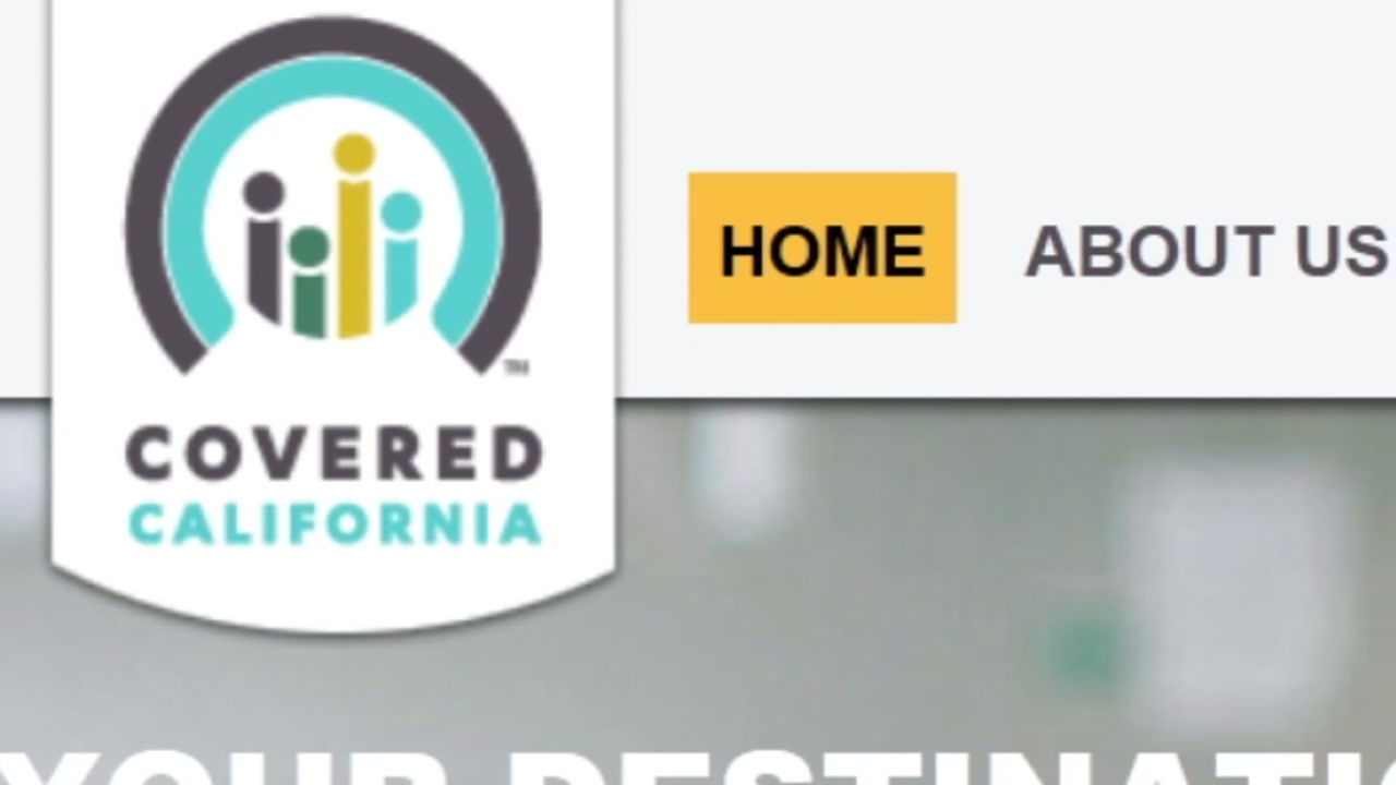This image shows a screen grab of the Covered California website on Saturday, Dec. 15, 2018.