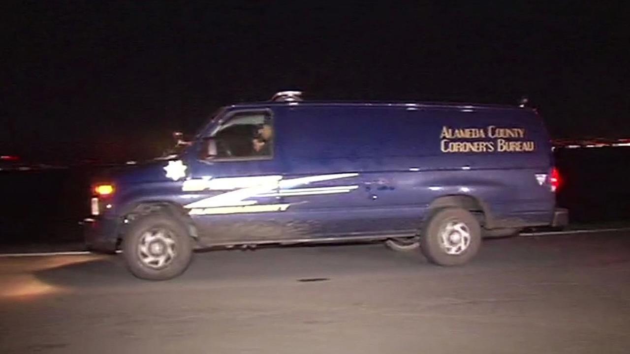 Alameda County coroner van