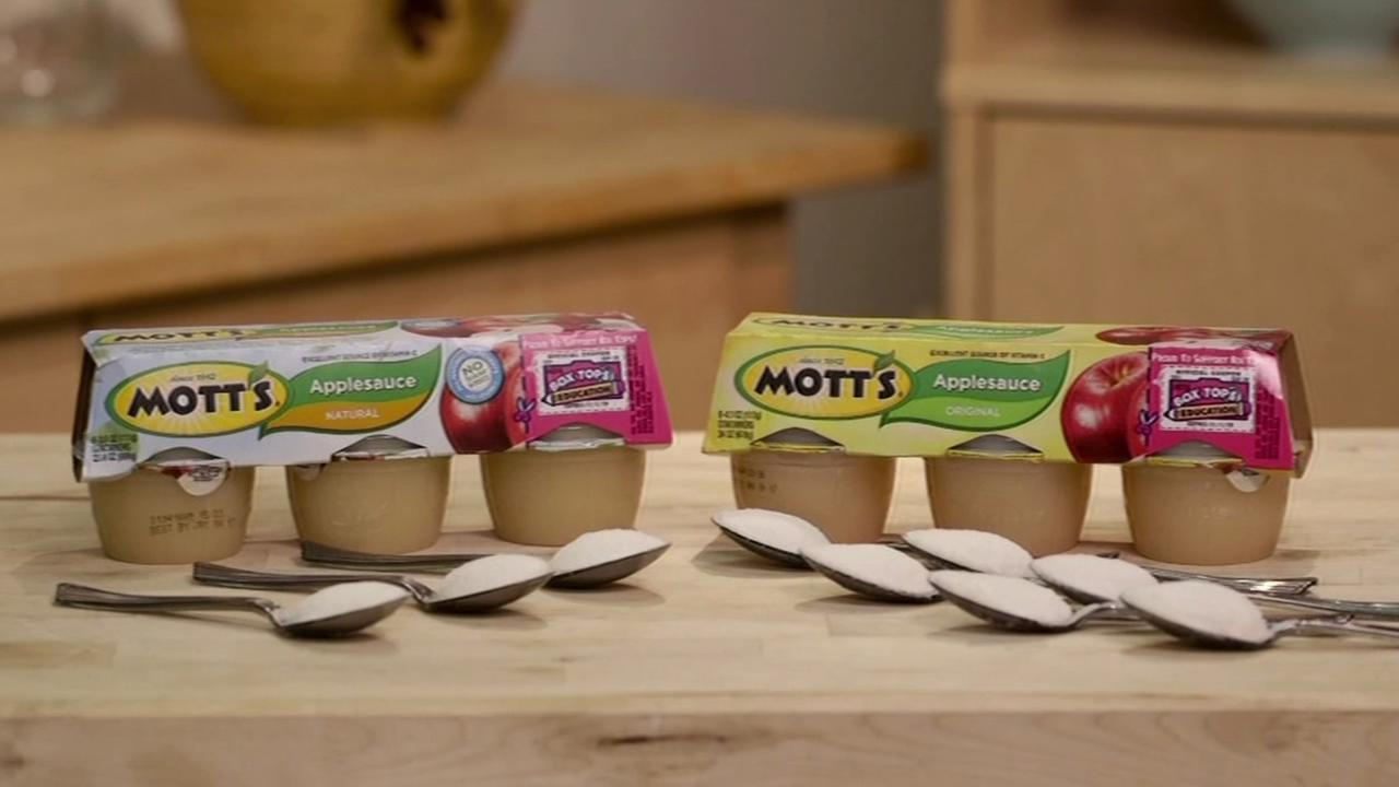 Motts Natural Applesauce is seen in this undated image.