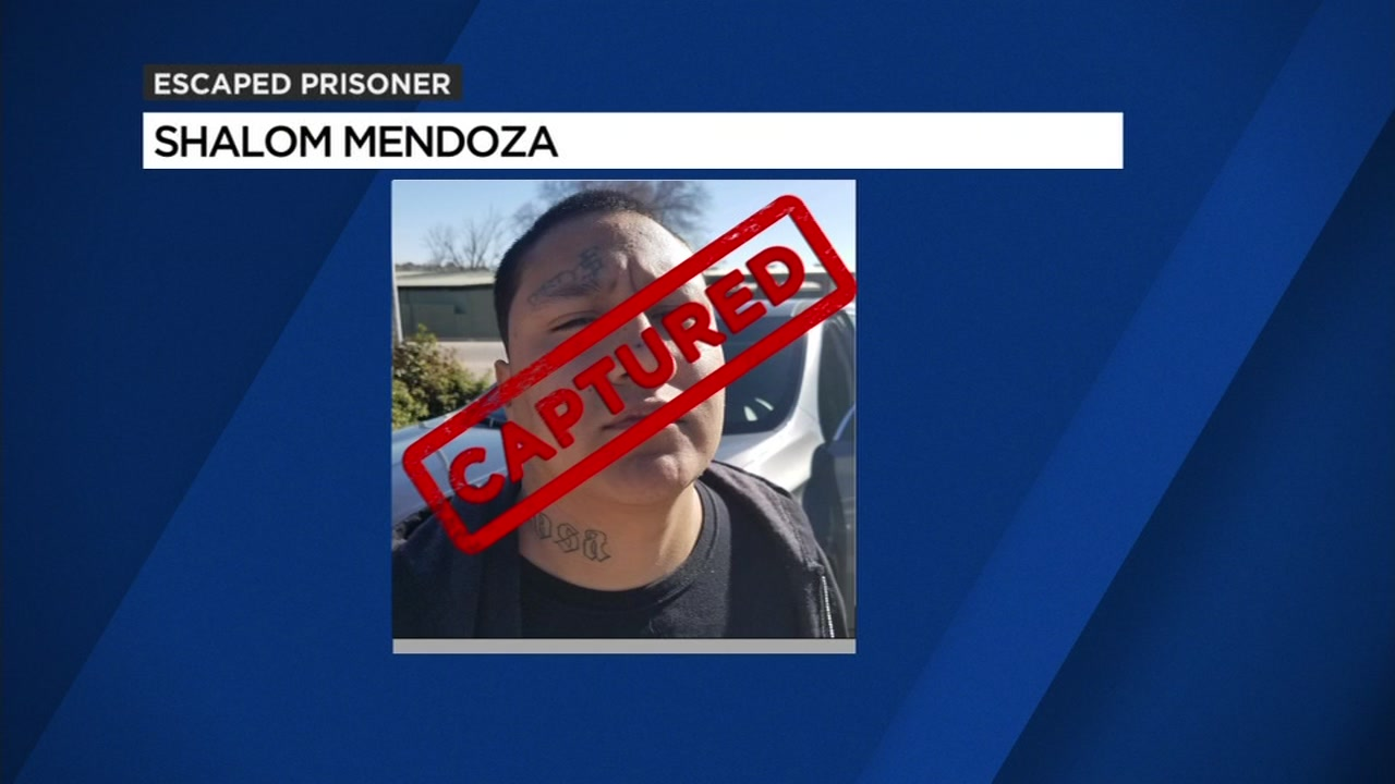 This undated image shows Shalom Mendoza, who is accused of escaping San Quentin.
