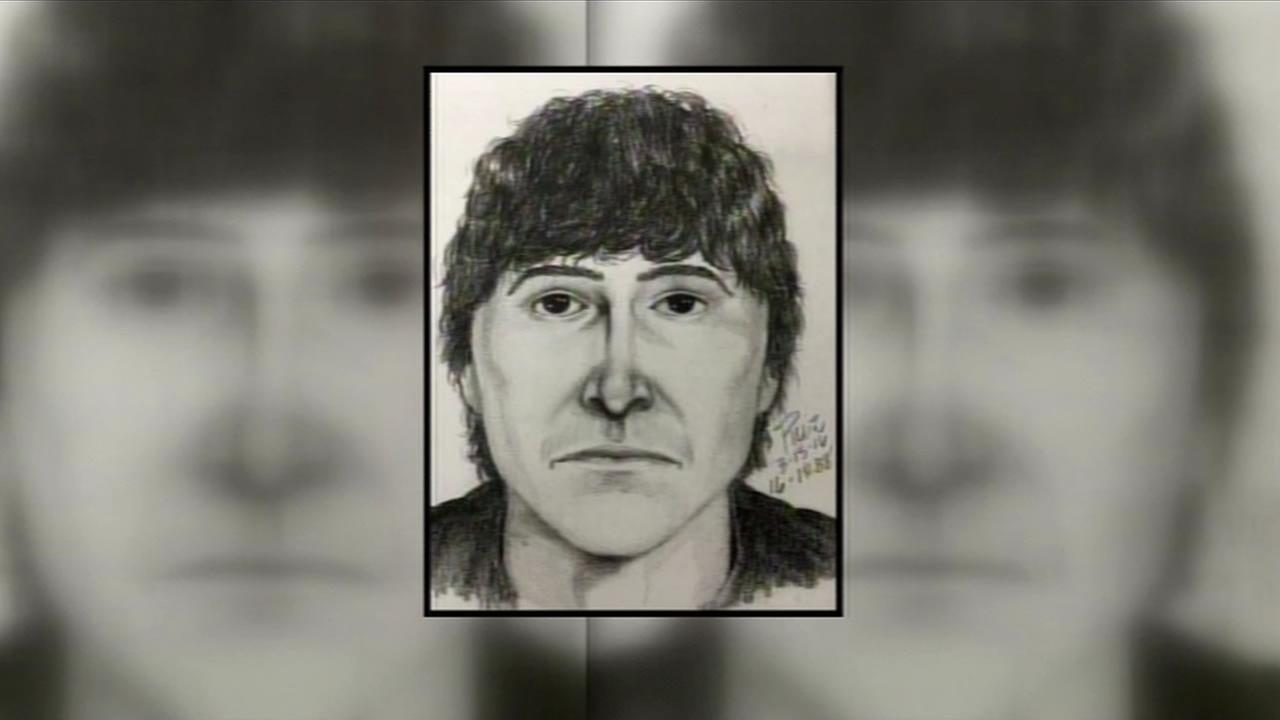 Police have released a sketch of a man accused of exposing himself to a young girl on March 14, 2016 in Palo Alto, Calif.