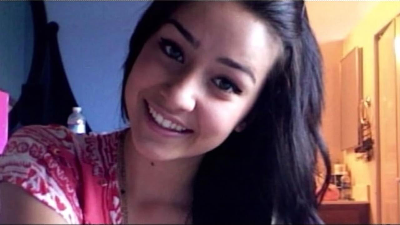 FILE-- Sierra LaMar, a missing 15-year-old who disappeared from Morgan Hill, March 16, 2012.