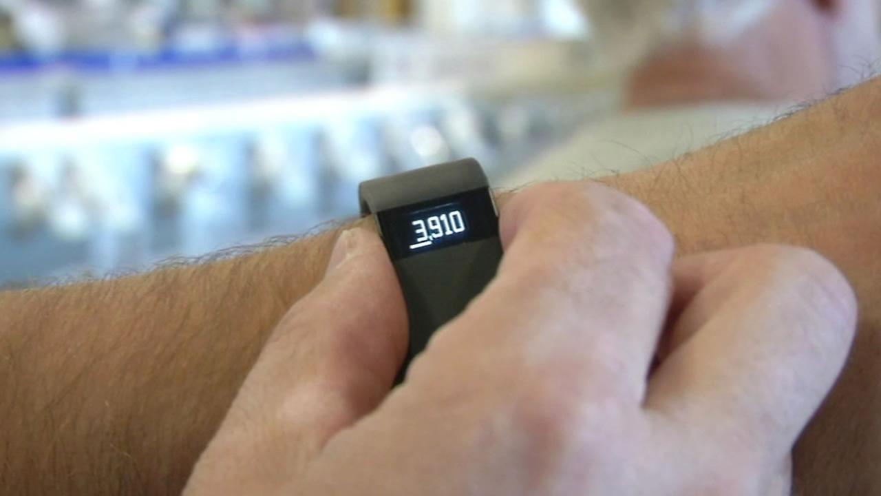 FILE -- Fitbit tracker