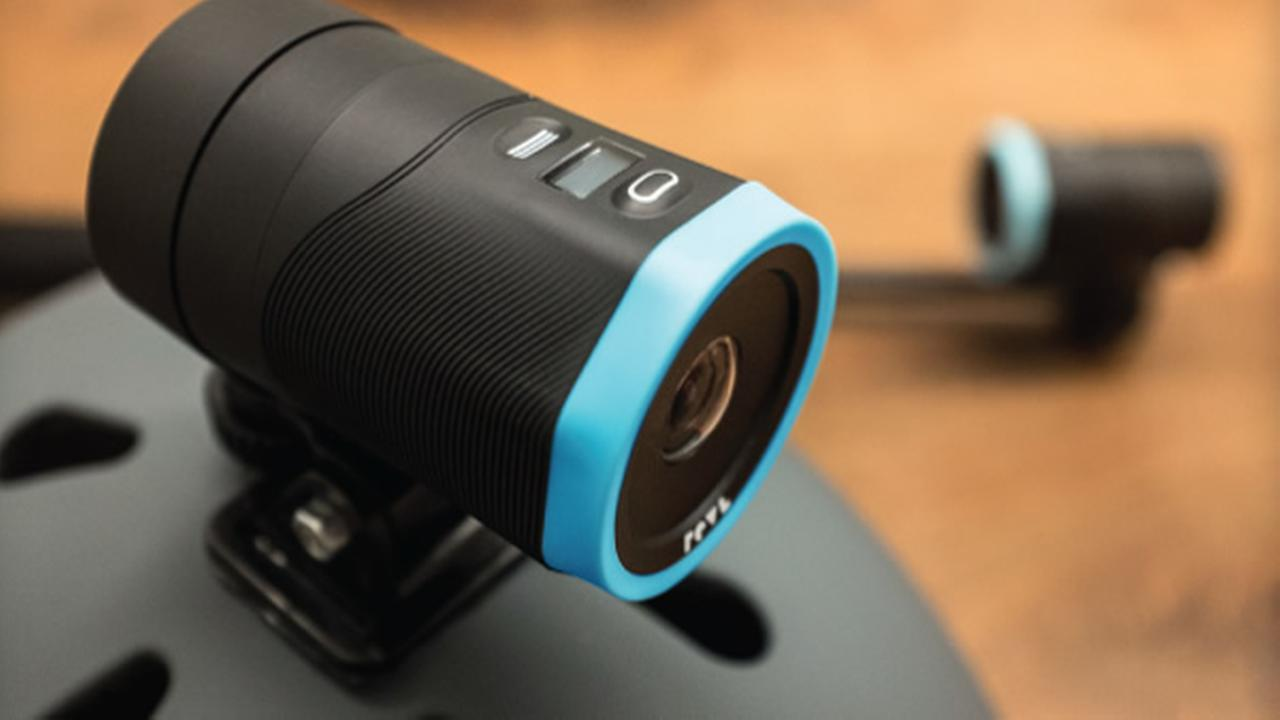 A camera named Revl  is seen in this undated image.