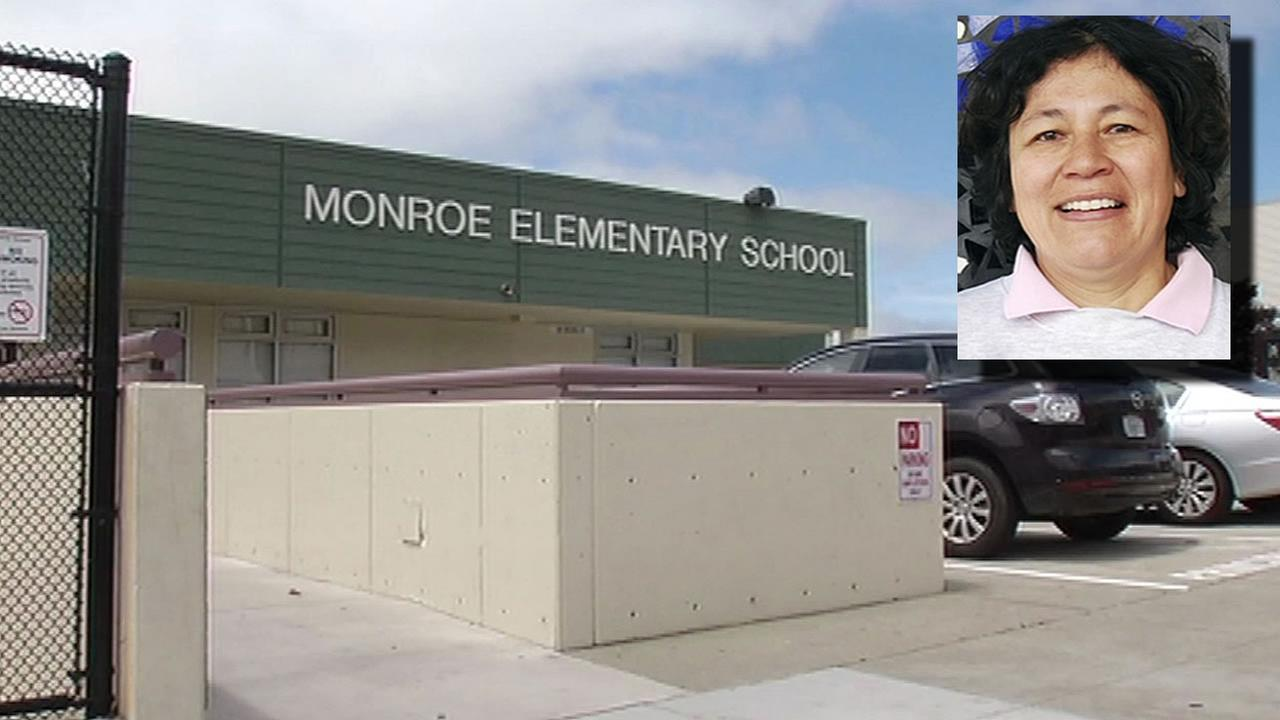 A San Francisco elementary school teacher named Erika Keil is seen in this undated image.
