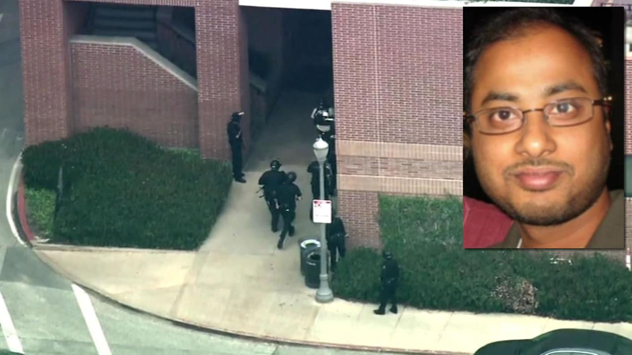 Police identified the gunman in the deadly UCLA shooting on Wednesday, June 1, 2016 as 38-year-old Mainak Sarkar.