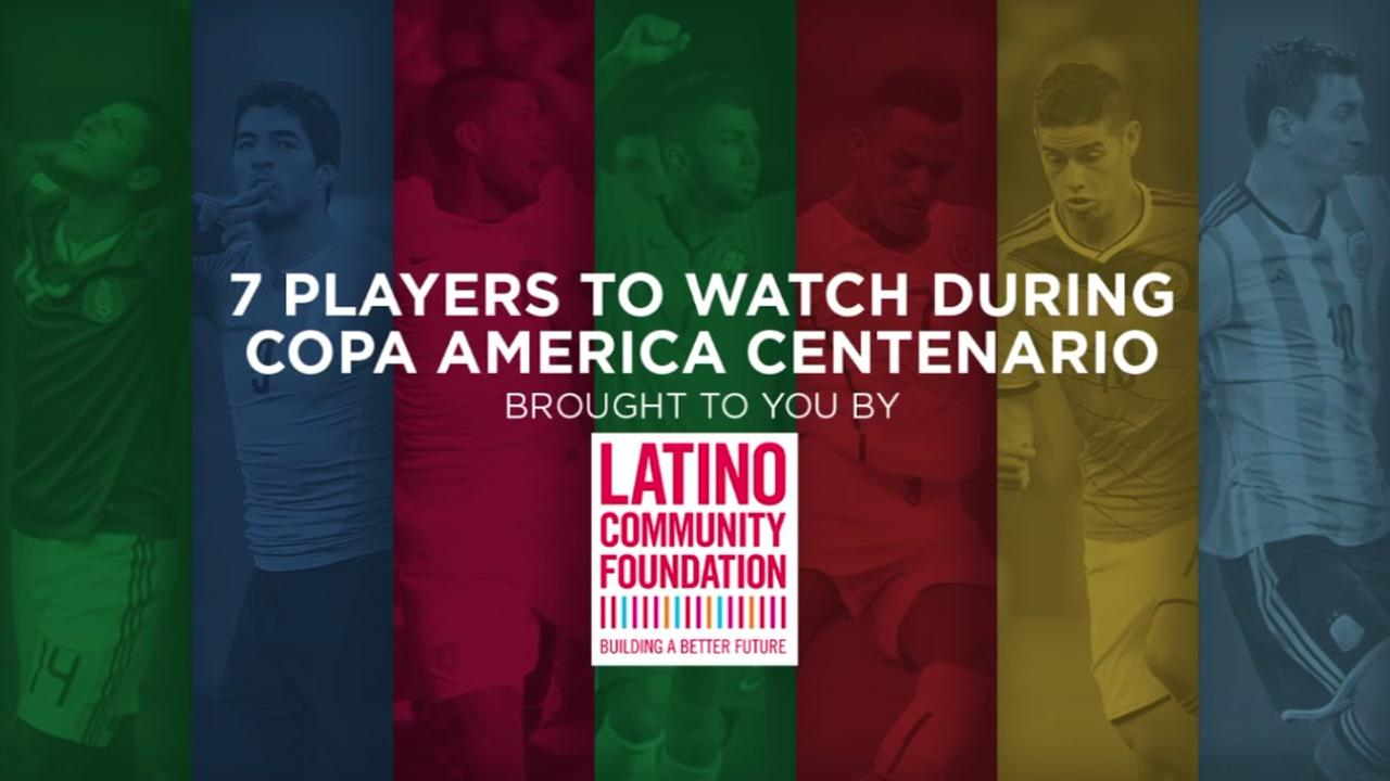 7 players to watch during the Copa America Centenario
