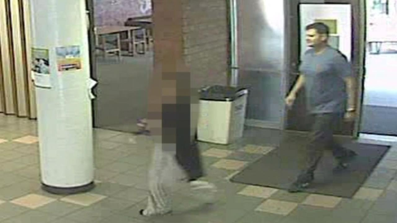 This image shows a possible witness to an alleged sex assault at San Jose State University.