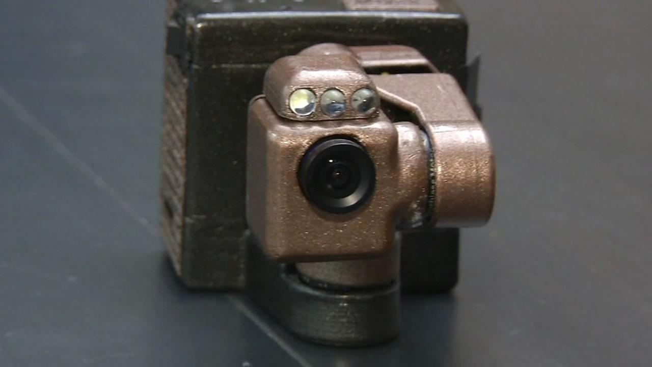 A drone camera is seen in this undated image.