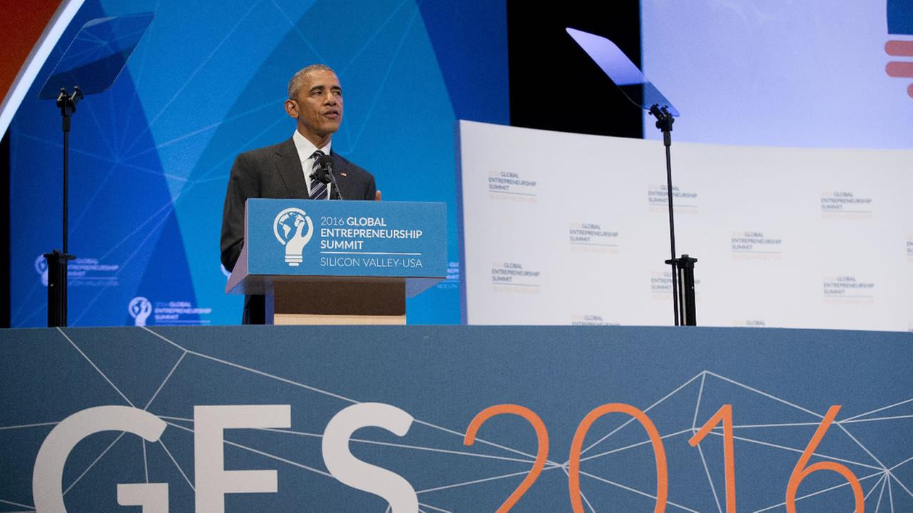 President Barack Obama began the Global Entrepreneur Summit at Stanford University, Friday, June 24, 2016, in Stanford, Ca., with remarks about the Brexit.