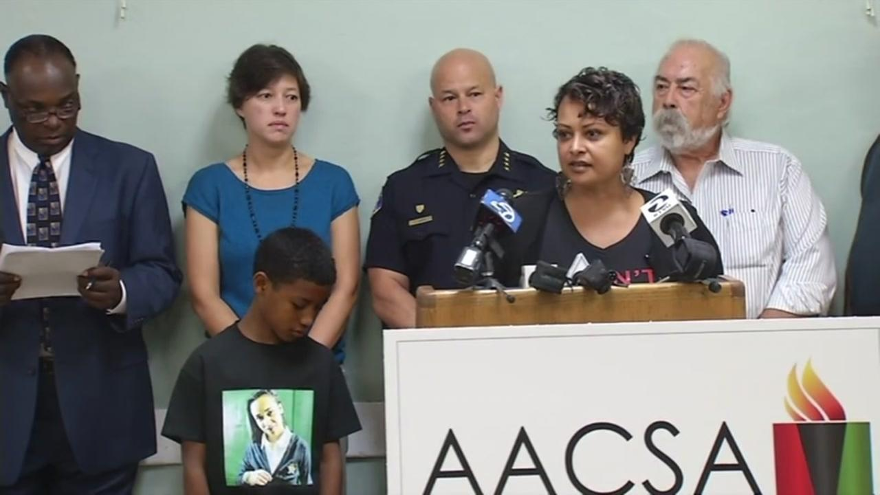Community leaders gathered in San Jose, Calif. on Tuesday, July 12, 2016 to call for unity and healing following the Dallas police shooting.