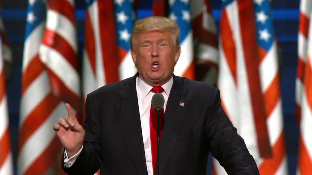 RAW VIDEO: Donald Trumps acceptance speech at RNC