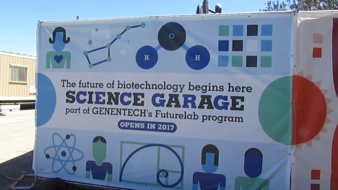 Groundbreaking held for South SF Unified's 'Science Garage'