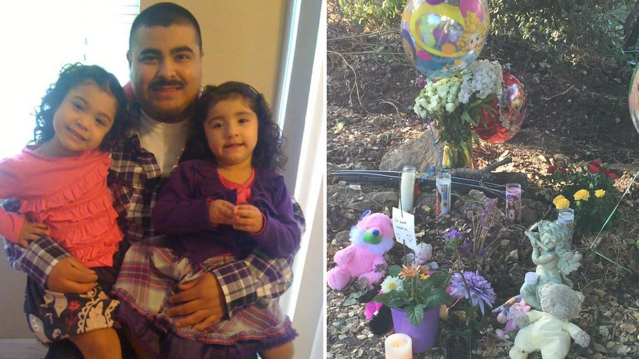 This image shows 9-year-old Delilah and 7-year-old Sayra Gonzalez who were killed in car accident on Petaluma on August 30, 2016.